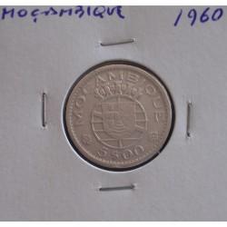 Moçambique - 5 Escudos - 1960 - Prata