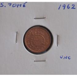 S. Tomé - 10 Centavos - 1962 - Unc