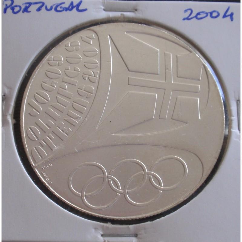 Portugal - 10 Euro - 2004 - J. O. Atenas - prata