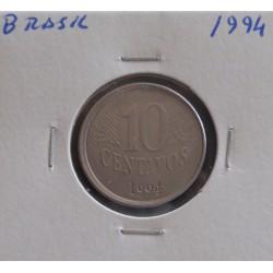 Brasil -10 Centavos - 1994
