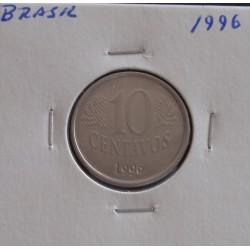 Brasil -10 Centavos - 1996