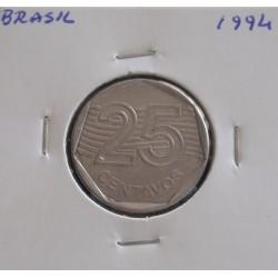 Brasil -25 Centavos - 1994