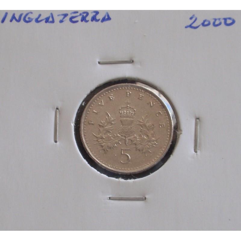Inglaterra - 5 pence - 2000