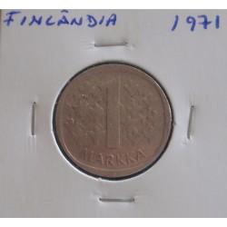 Finlândia - 1 Markka - 1971