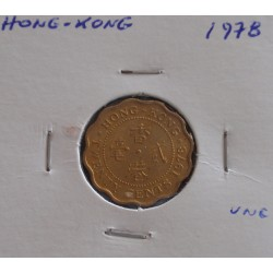 Hong - Kong - 20 Cents - 1978 - Unc