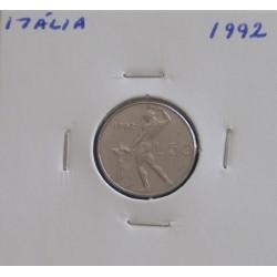 Itália - 50 Lire - 1992