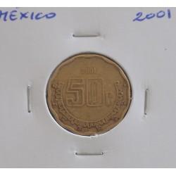 México - 50 Centavos - 2001