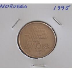 Noruega - 10 Kroner - 1995