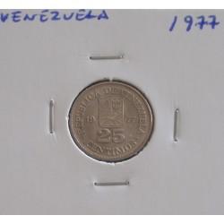 Venezuela - 25 centimos - 1977