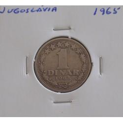 Jugoslávia - 1 Dinar - 1965