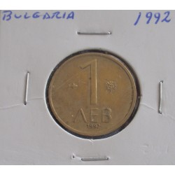 Bulgária - 1 Lev - 1992