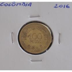 Colômbia - 100 Pesos - 2016