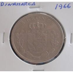 Dinamarca - 5 Kroner - 1966
