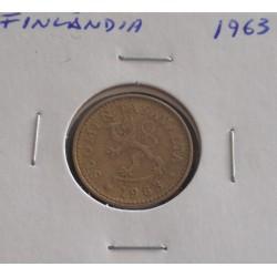 Finlândia - 10 Pennia - 1963