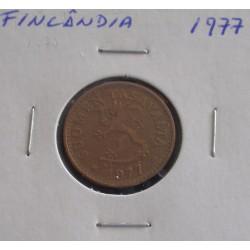 Finlândia - 10 Pennia - 1977