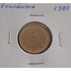 Finlândia - 10 Pennia - 1981