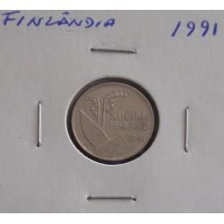 Finlândia - 10 Pennia - 1991