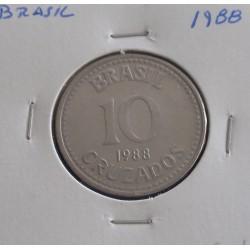 Brasil - 10 Cruzados - 1988
