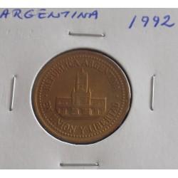 Argentina - 25 Centavos - 1992