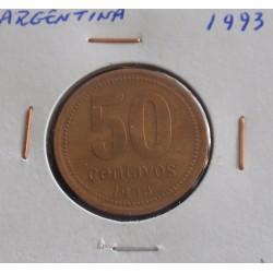 Argentina - 50 Centavos - 1993