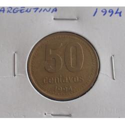 Argentina - 50 Centavos - 1994