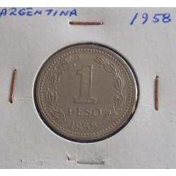 Argentina - 1 Peso - 1958