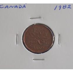 Canadá - 1 Cent - 1982