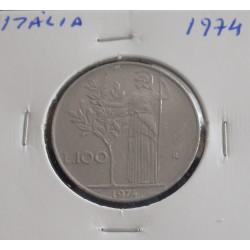 Itália - 100 Lire - 1974