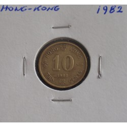 Hong - Kong - 10 Cents - 1982