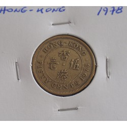 Hong - Kong - 50 Cents - 1978