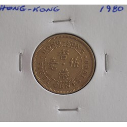 Hong - Kong - 50 Cents - 1980