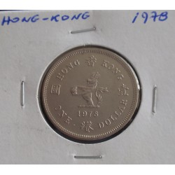 Hong - Kong - 1 Dollar - 1978