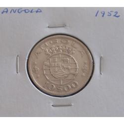 Angola - 10 Escudos - 1952 - Prata