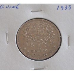 Guiné - 1 Escudo - 1933