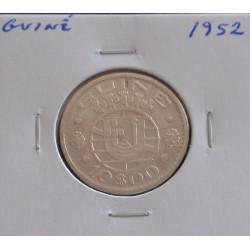 Guiné - 10 Escudos - 1952 - Prata