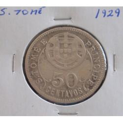 S. Tomé - 50 Centavos - 1929