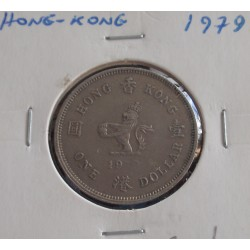 Hong - Kong - 1 Dollar - 1979