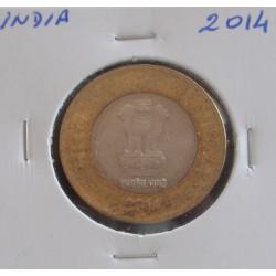 India - 10 Rupees - 2014
