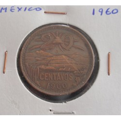 México - 20 Centavos - 1960
