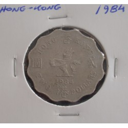 Hong - Kong - 2 Dollars - 1984