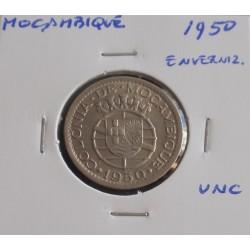 Moçambique - 50 Centavos - 1950 - Enverniz. - Unc