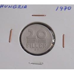 Hungria - 20 Fillér - 1970