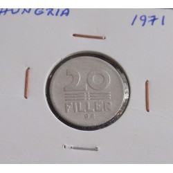Hungria - 20 Fillér - 1971