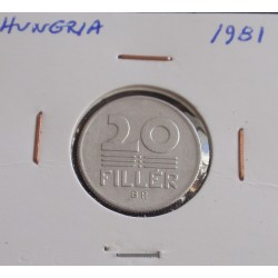 Hungria - 20 Fillér - 1981