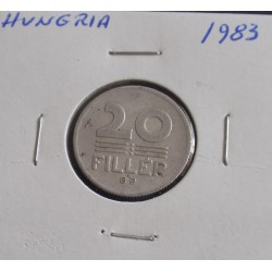 Hungria - 20 Fillér - 1983