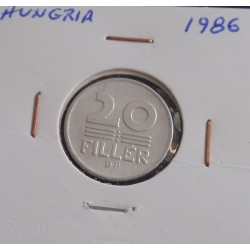 Hungria - 20 Fillér - 1986
