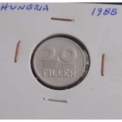 Hungria - 20 Fillér - 1988