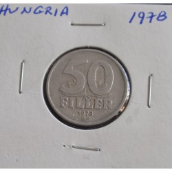 Hungria - 50 Fillér - 1978