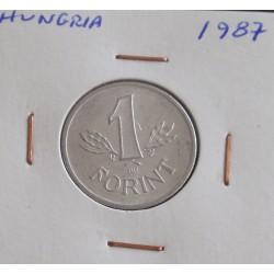 Hungria - 1 Forint - 1987