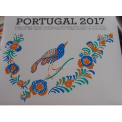 Portugal - Série Anual - 2017 - Proof
